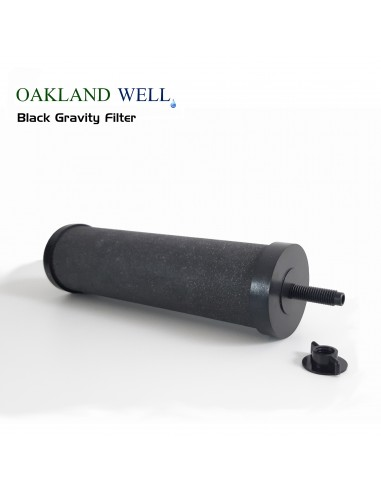 Oakland Well Black Gravity filter...