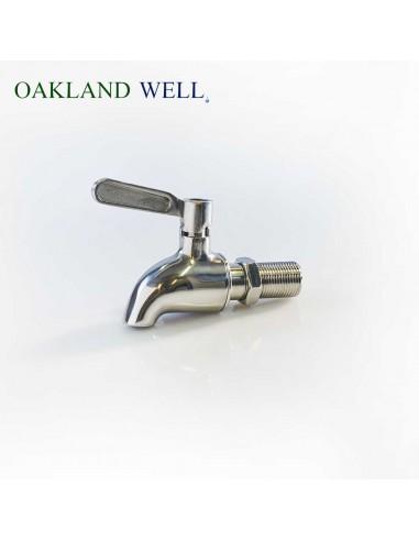Stainless steel spigot tap for...