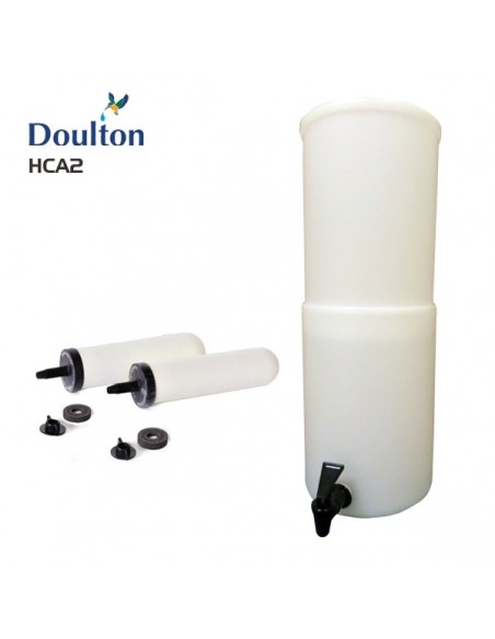 Doulton HCA2 lightweight gravity water filter